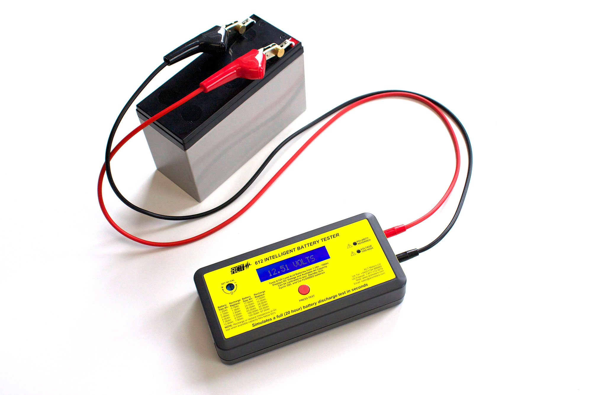Measure Internal Resistance Of Car Battery